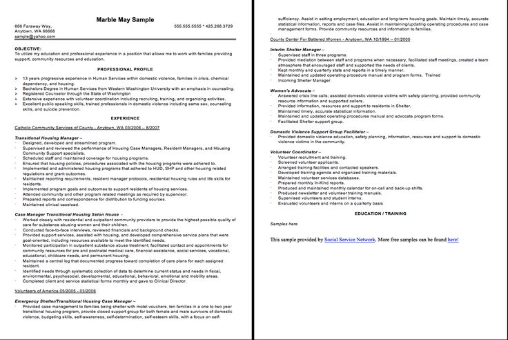Case Manager Resume Sample -   resumesdesign/case-manager