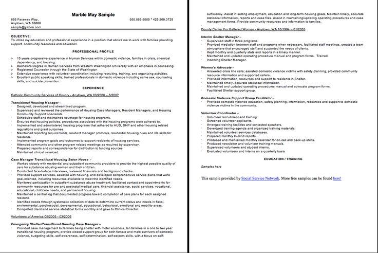 Case Manager Resume Sample - http://resumesdesign.com/case-manager-resume-sample/