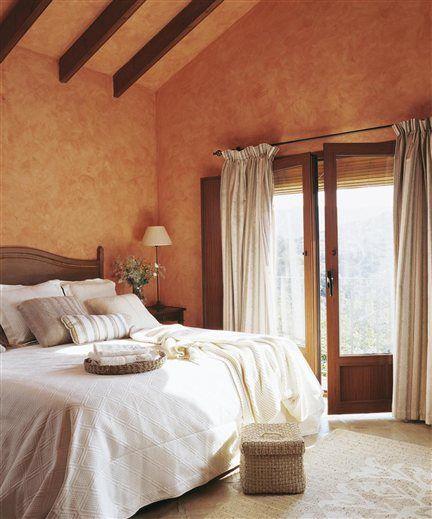 M s de 25 ideas incre bles sobre dormitorio en tonos color for Colores rusticos para interiores