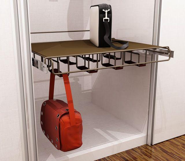 Tu Organizas.: Gavetas diferentes e porta bolsas