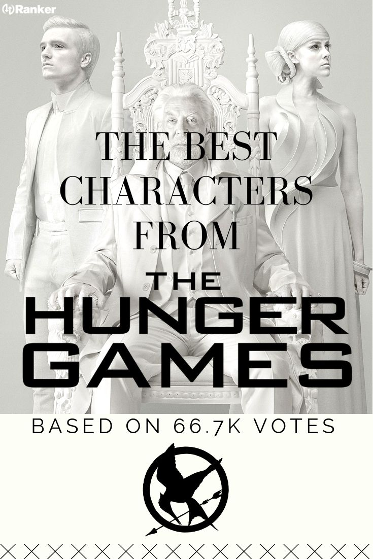 The Characters From The Hunger Games Series Ranked From Best To