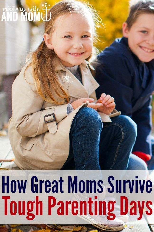 Ever wonder how great moms get through tough parenting days? This is exactly what you need to know to survive the hard days of motherhood when you're tired, angry, or both.