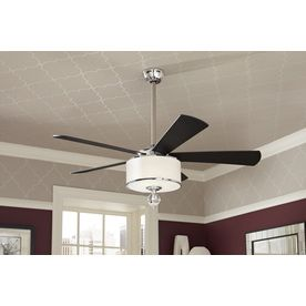 Ceiling Fan with Drum Shade