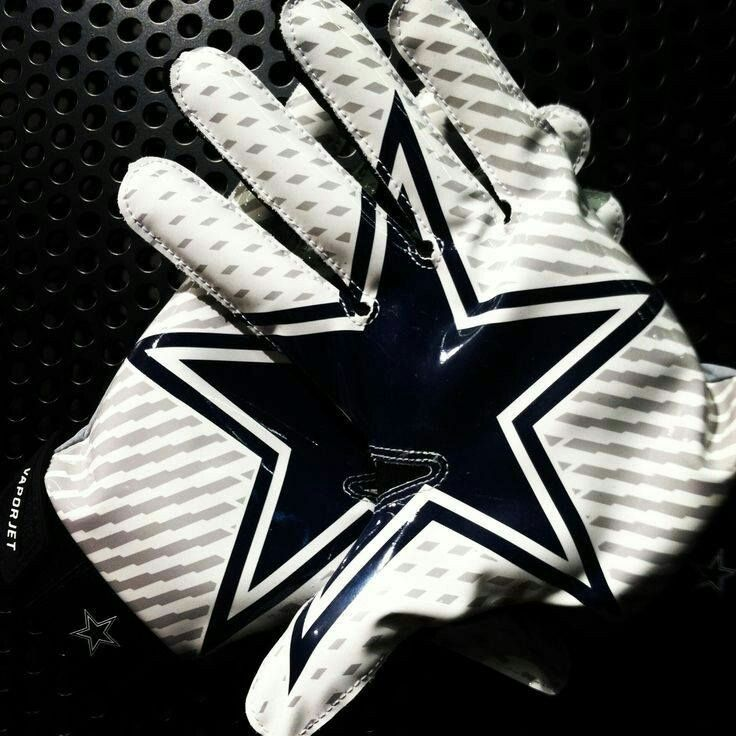 Dallas Cowboys Football Gloves