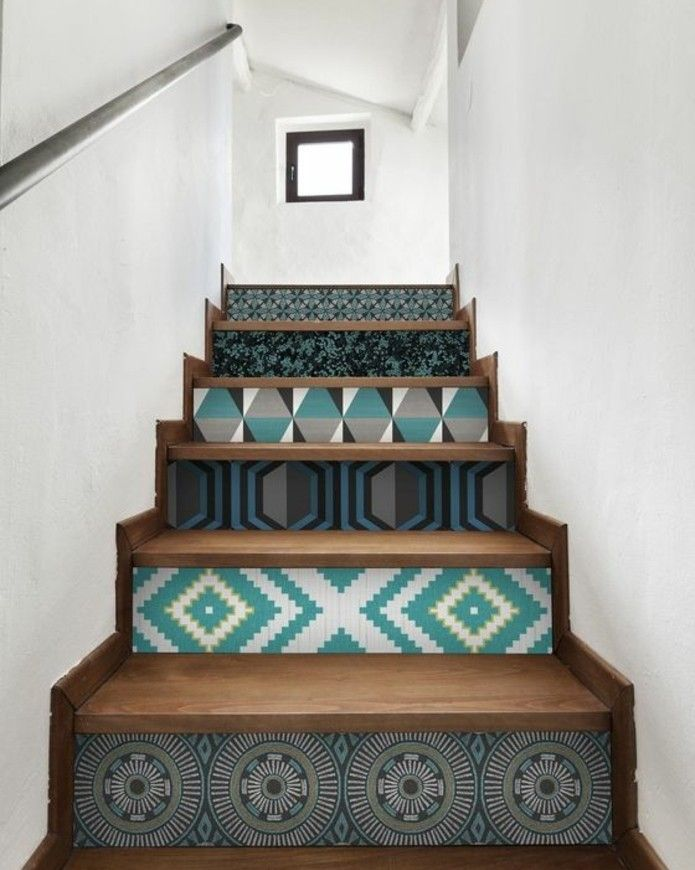 25 best ideas about peinture escalier on pinterest - Repeindre un couloir sombre ...