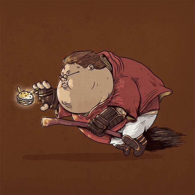 Chunky Harry Potter