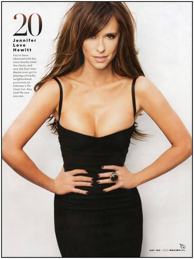 Jennifer love Hewitt's hair is everything