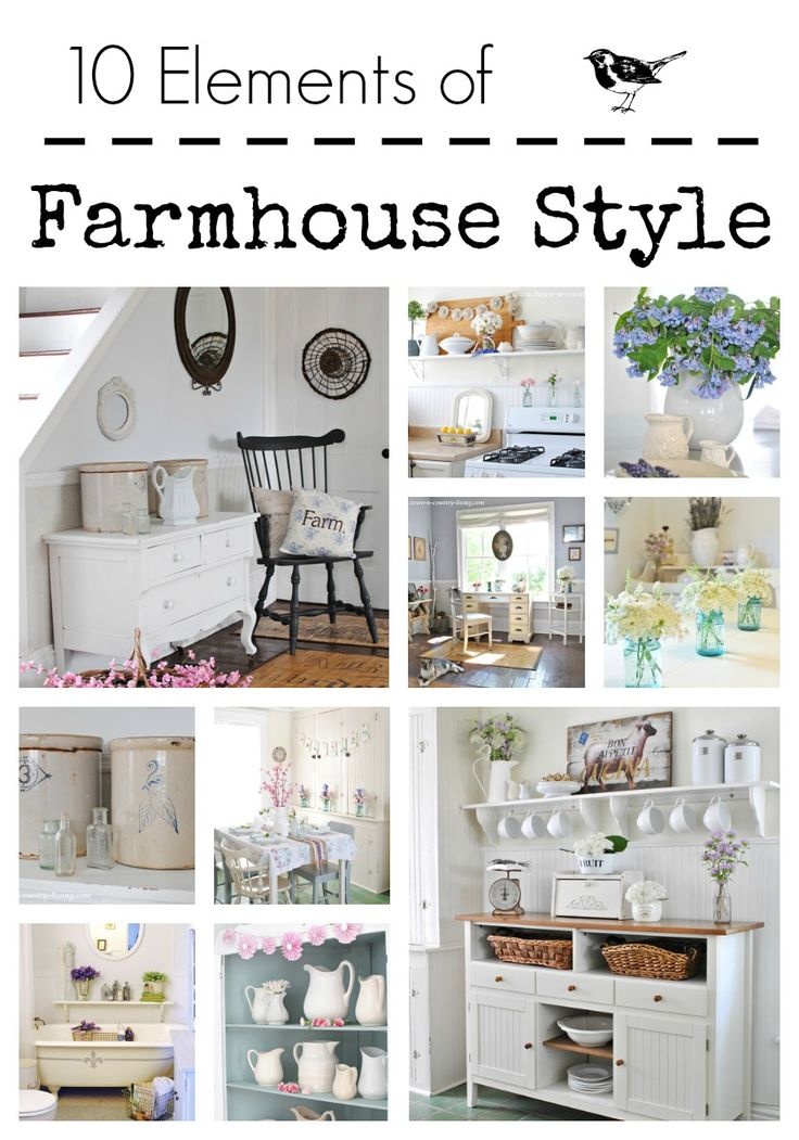 See how to add farmhouse style to your home with these essential decorating elements.