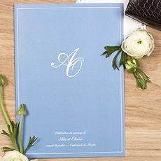 Livret de messe Chic liseré by Elephant (rose) pour www.rosemood.fr #mariage #wedding #rosemood #atelierosemood #atelierrosemood