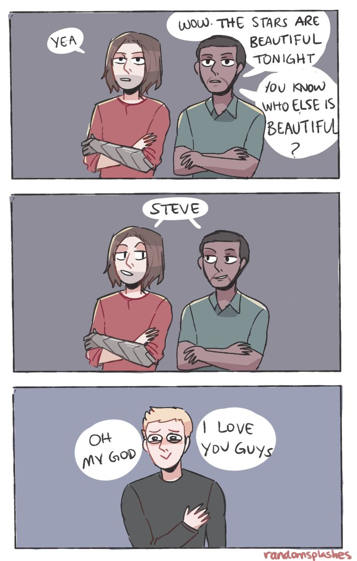 Bucky and Sam would be the BEST best friends. Ever.