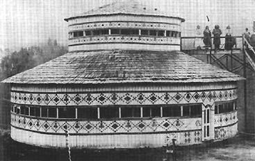 Rua's Council House at Maungapohatu