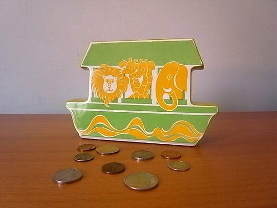 Vintage Carlton Ware Money Box Noahu0027s Ark Green & 50 best Carlton Ware Money Boxes images on Pinterest | Money box ... Aboutintivar.Com