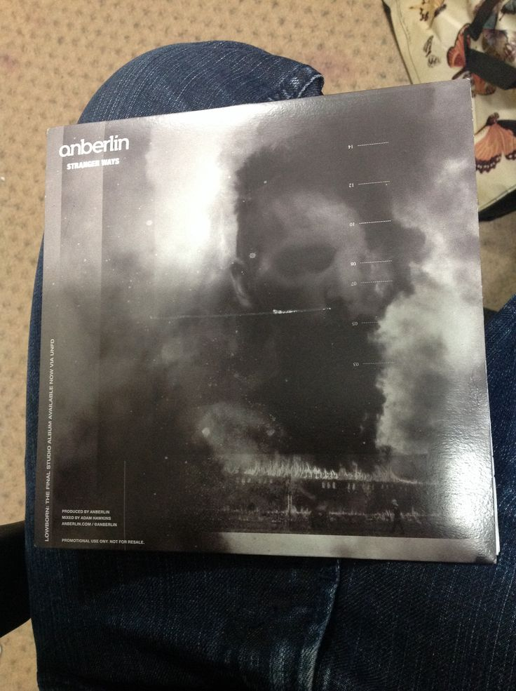 Exclusive Anberlin Single 7""