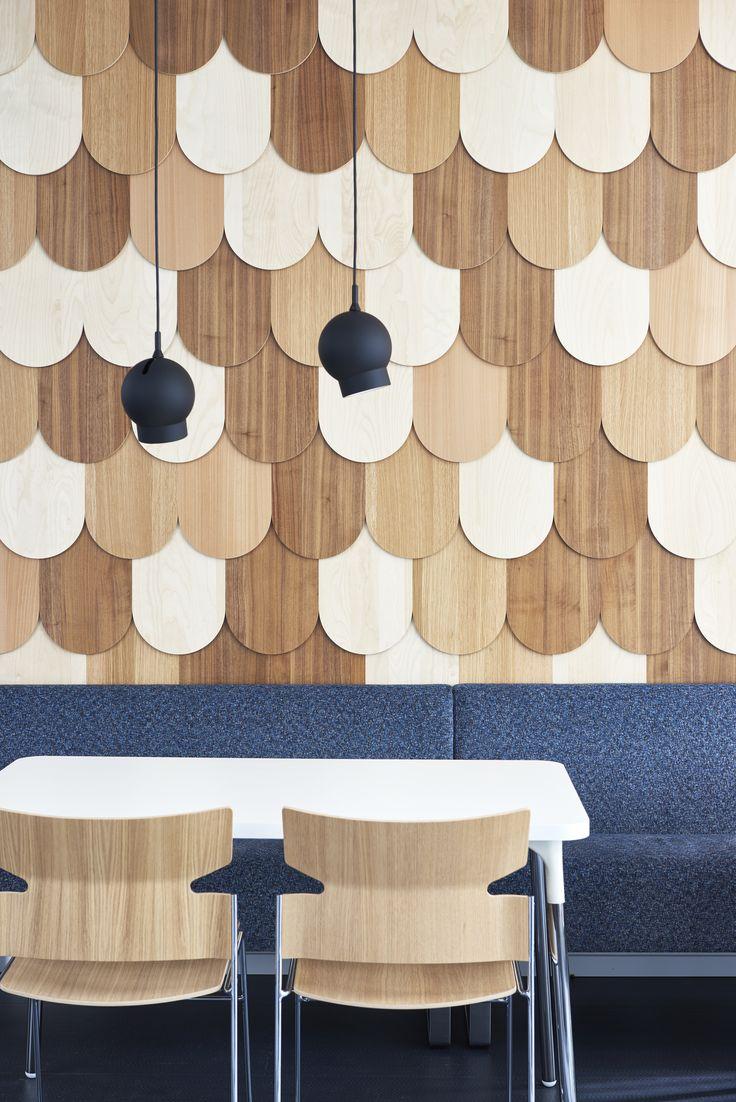 Stack chair/armchair, design: Fredrik Mattson   Silent Whisper table, design: Sigrid Strömgren
