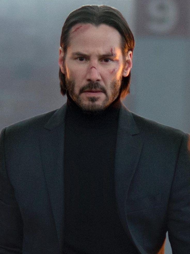 "Keanu Reeves protarys the character of John Wick (the Boggeyman) in the movie ""John Wick....."