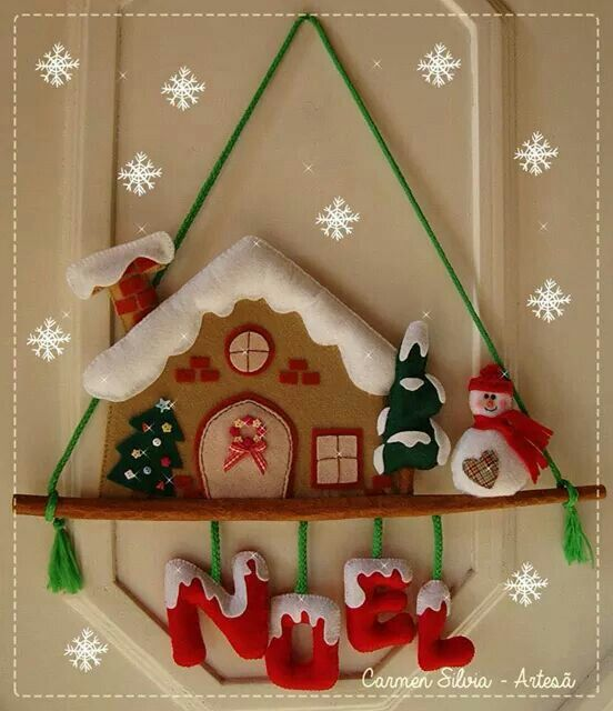 Oh how cute is this. Get out the tree and the cocoa - decorating party. Oops it's not Xmas yet.