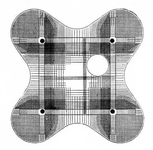 Marcel Breuer, Ariston Restaurant, Diagram Showing Steel Reinforcement in Floor Slab, Mar del Plata, Argentina, 1947