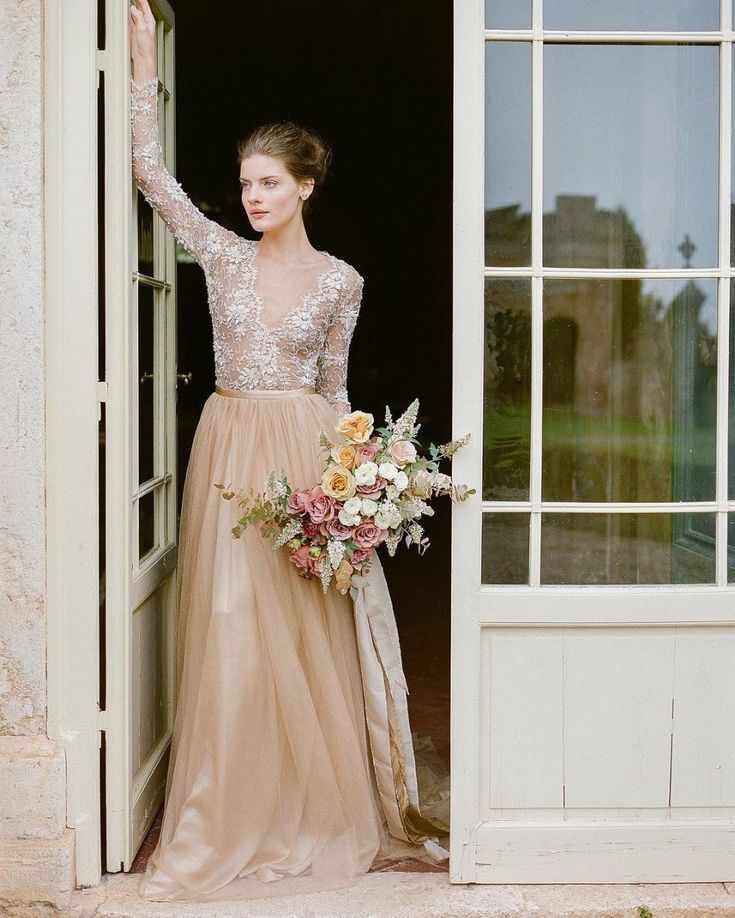e6b6414509 You will not believe your eyes when you see these color wedding dresses! So  much beauty in all 30 of them