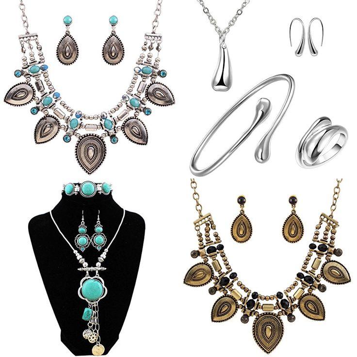 Beautiful boho chic jewellery sets! http://amzn.to/2lj9uVW