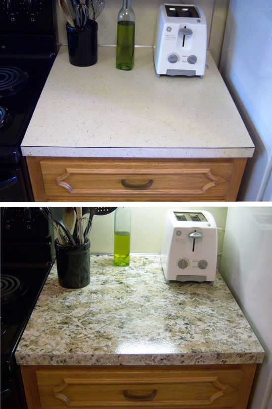 Southern Mom Loves: Refreshing Your Kitchen on a Budget: Giani Granite Countertop Paint {Review}