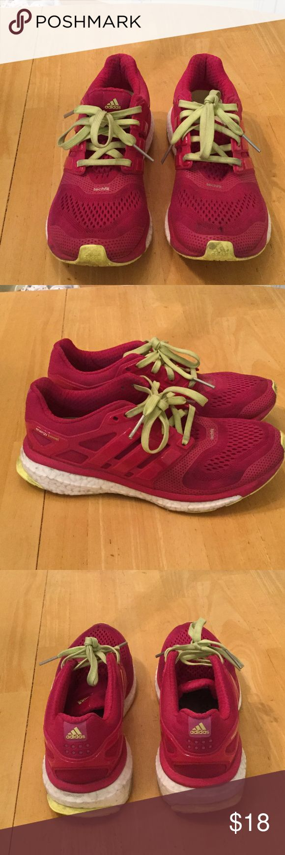 Adidas energy boost shoes Good condition training shoes Shoes Athletic Shoes
