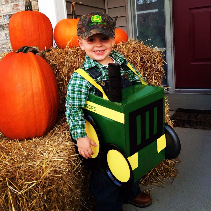 Little boy Tractor costume