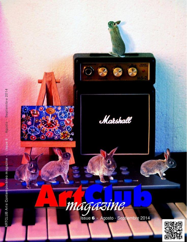 Artclub magazine nº 6  Revista internacional de arte contemporáneo