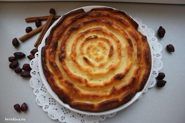 Творожный пирог с яблоками http://brotkina.ru/2013/12/21/apple-pie