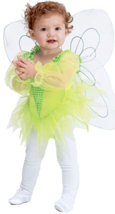 baby and toddler tiny tinker bell costume
