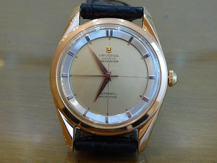 Universal Geneve Polerouter GOLD