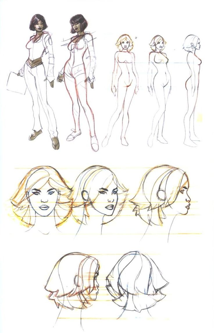 Character Design References Website : Best images about character pose turn head on