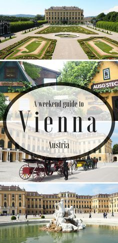 How to have the perfect weekend in Vienna, Austria. Click for a complete two day itinerary for the city of music. Where to stay, what to do and how to save money.  Europe travel   European cities   Architecture   Palaces   City guide   Austria travel   Interrailing