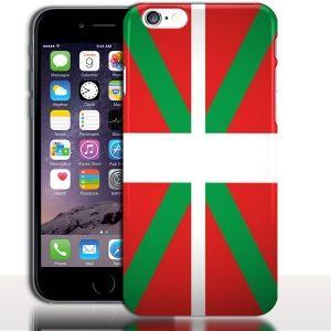 Coque iPhone 7 Drapeau Pays Basque ( Protection Rigide / Silicone ) 4.7 pouces