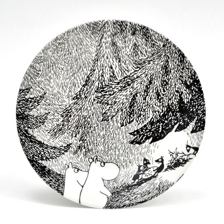 Very Goods | Moomin meeting plate – The Official Moomin Shop