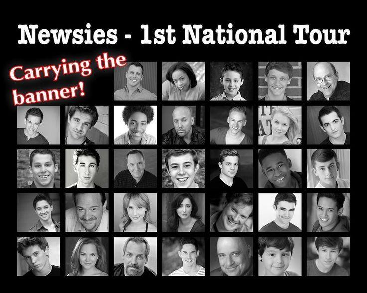 Newsies Tour Cd