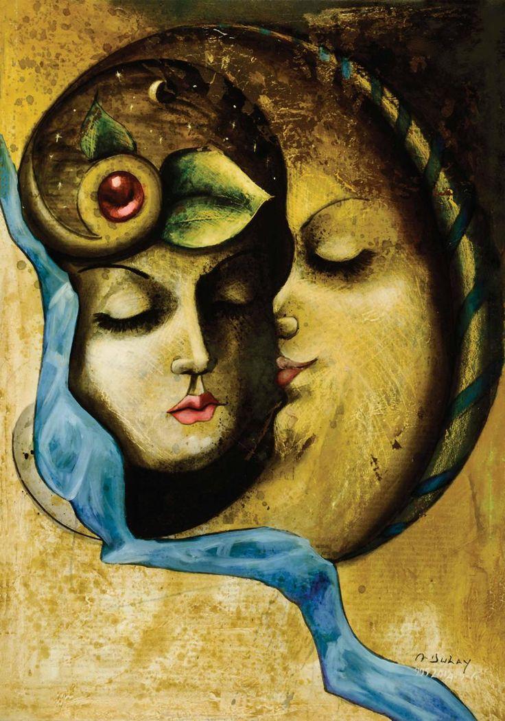 Madame con su primer amante - Angelo Dulay