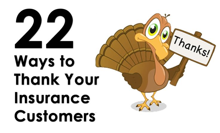 22 Ways to Thank Your Insurance Agency Customers