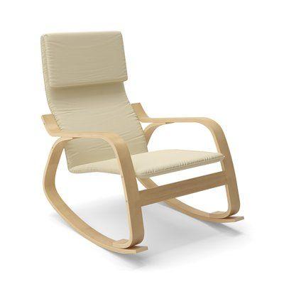 CorLiving LAQ-6 Aquios Bentwood Contemporary Rocking Chair