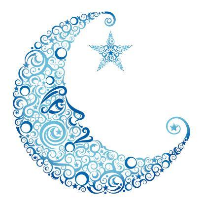 Crescent Moon & Star