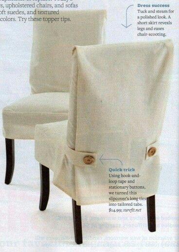 35 mejores im genes sobre forros para sillas en pinterest - Forro para sillas de comedor ...