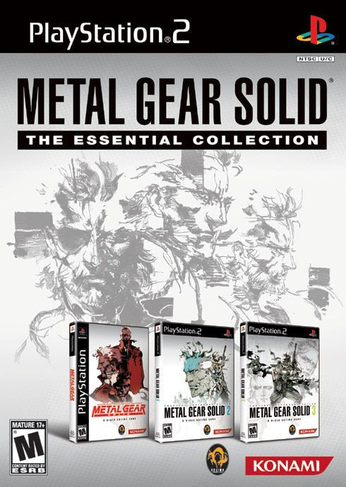 Metal Gear Solid: The Essential Collection is a collection of games in the Metal Gear series. It was released for the PlayStation 2 on March 18, 2008 in North America. The Essential Collection features Metal Gear Solid as well as Metal Gear Solid 2: Substance and Metal Gear Solid 3: Subsistence. Each game has a new commemorative boxart cover drawn by Yoji Shinkawa. For Metal Gear Solid, it is packaged in a PS2 case. Despite this, Metal Gear Solid is still a two CD game. Finally, the…