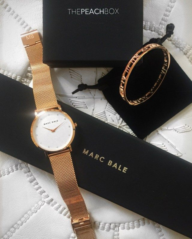 Why Rose Gold is the Ultimate Accessory @thepeachbox @marcbaleofficial