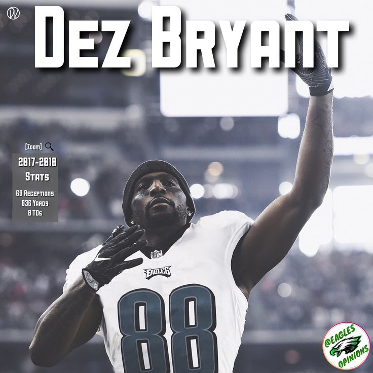 Should the Eagles make a move for Dez Bryant this offseason? [Zoom in on box for stats] The Cowboys are apparently shopping the once star WR and looking to trade or cut Dez Bryant. Could the Eagles make a move to have a WR2 begin Alshon? If cut I think we could sign him for cheap with a restructured contract. Should the Eagles make a move for Dez Bryant? (Swap done by @dkart_) TAG @dezbryant BELOW! _______________________________________________________ [Tags]       [#eagles]…