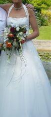 Robe de mariée EGLANTINE CRÉATIONS Blanc, blanc cassé, écru