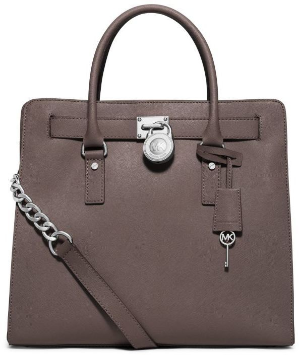Michael Kors Hamilton Saffiano Leather Large Tote