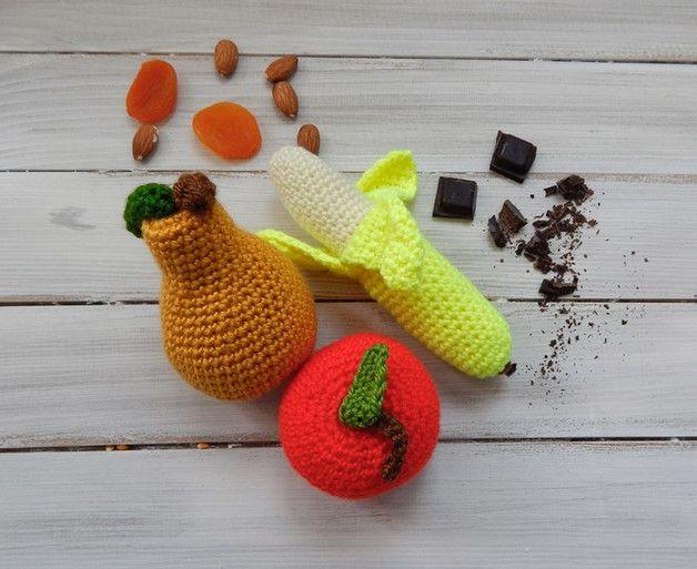 Zabawka dla dziecka - owoce - komplet - mellcja - Maskotki i pluszaki