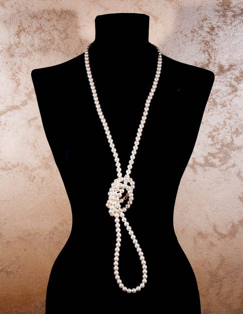 Retro pearls necklace Laura8 collection. www.laura8.com
