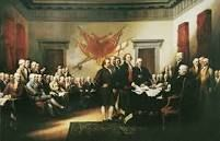 Lastly, may I present the birth of America the Declaration of Independence. It's say that the people in America will live as a independent country no longer serviced by any country.