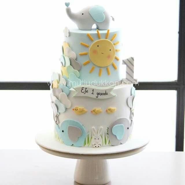 Elephant Theme 3rd Birthday Party: Best 25+ Elephant Birthday Cakes Ideas On Pinterest