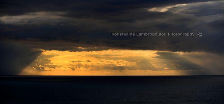 sunset Pefkoulia